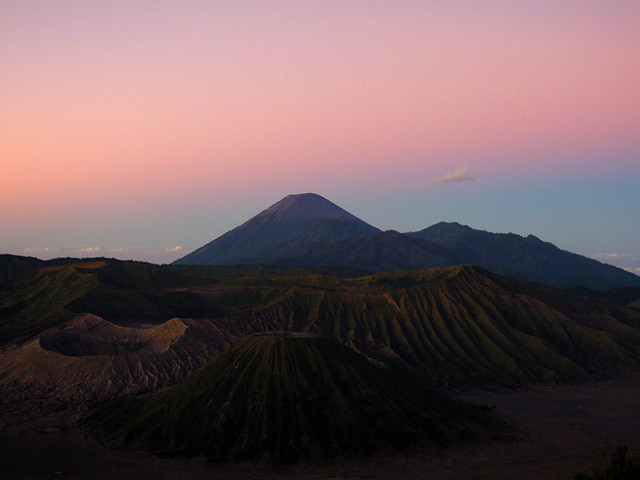 Mt Bromo at sunrise