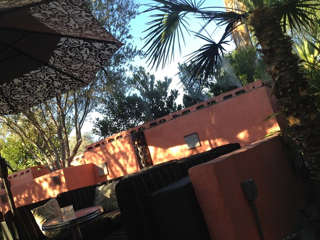 Outdoor patio area - Tropicale