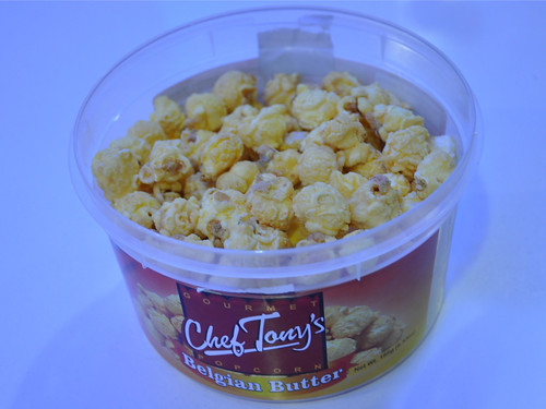 Chef Tony's Belgian Butter popcorn