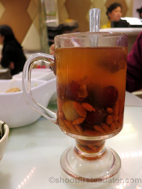 red dates & longan tea HK$19
