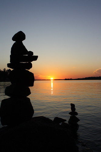 Sunset Cairn, Lake Vermilion