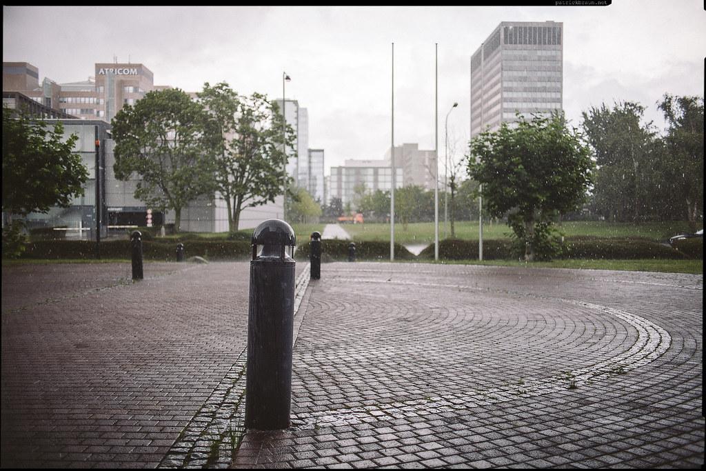 finally, some rain over Frankfurt/Main