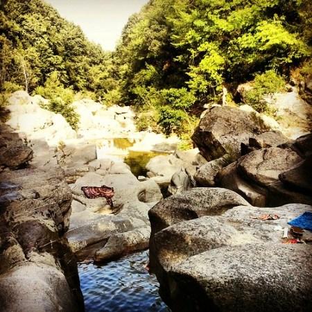 laghetti e cascate a Piloni Torniella