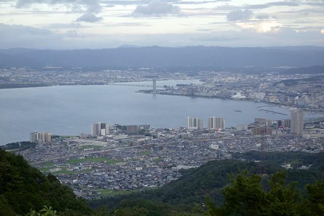 Lake Biwa and Otsu City