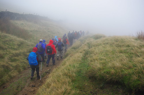 20111016-03_Leaving Edale Cross in the mist by gary.hadden