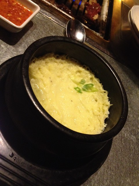 Steamed egg - YakiniQ BBQ