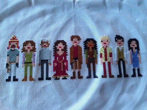 Firefly Pixel People complete!