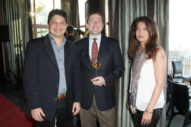 Abhay Parekh, Jonathan Schwartz, Kay Parekh