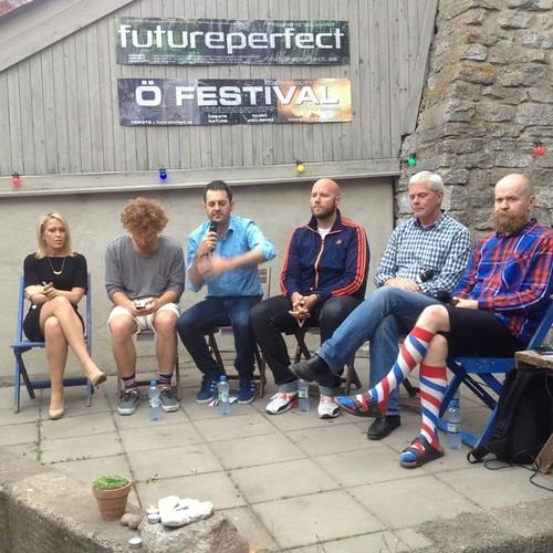 Paneldiskussion om mediernas framtid med Wikileaks, Futureperfect, Bambuser, BBC