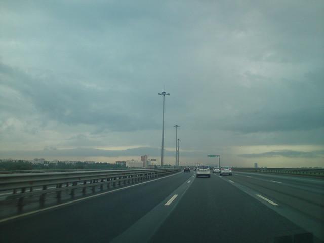 Дождливое небо // Rainy sky
