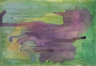 Mail Art Watercolor Background 10