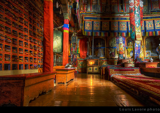 Intérieur d'un monastère