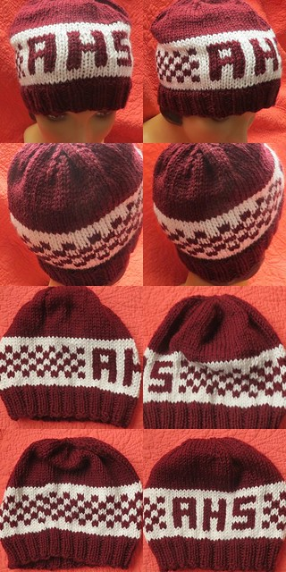 high school Monogram hat