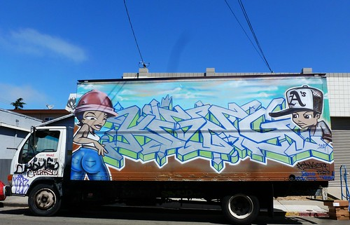 Graffiti Truck by dyannaanfang