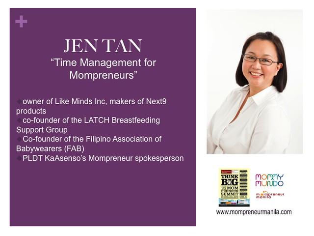 Jen Tan profile