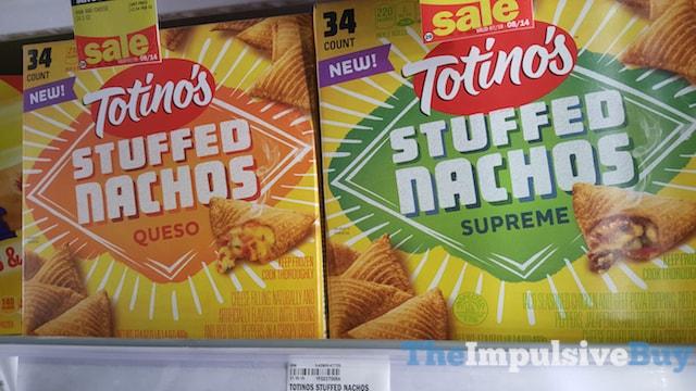 Totino's Stuffed Nachos (Queso and Supreme)