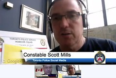 Interview with Toronto Police Constable Scott Mills - Use of Social Media tool in Police Services