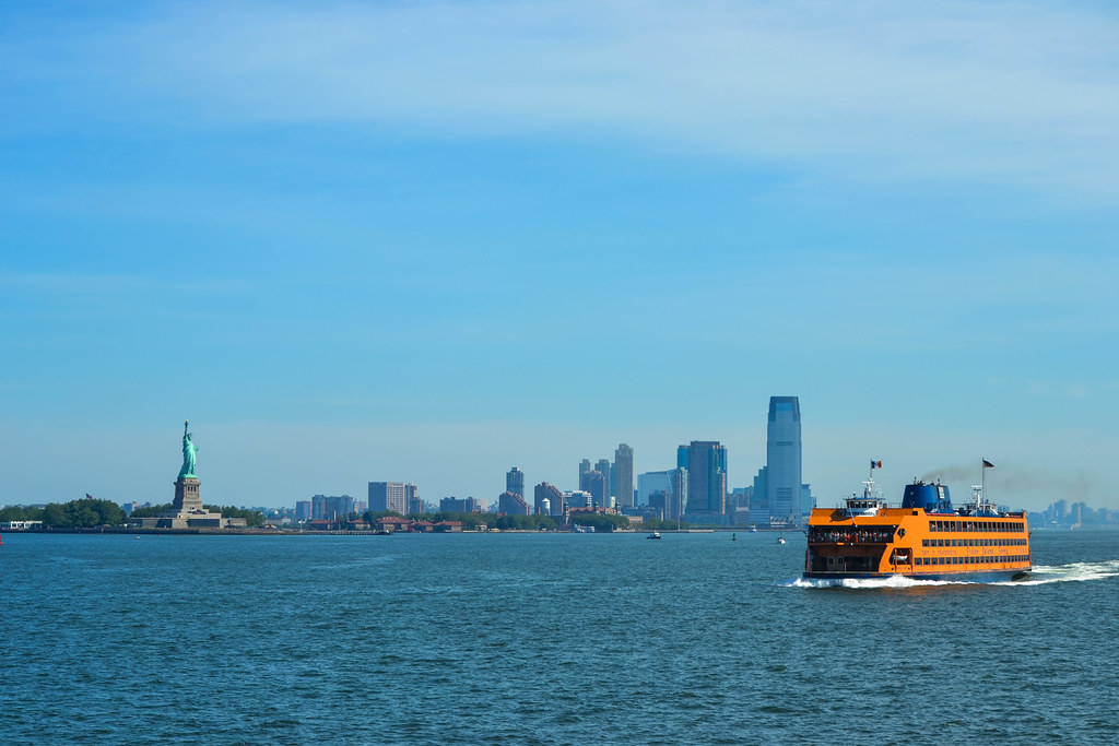 Here comes the ferry, a week in new york