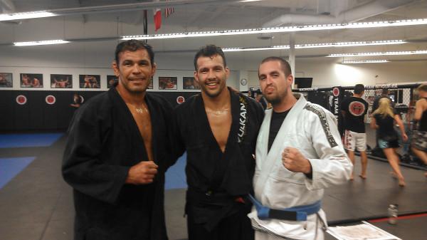 Big Nog, Professor Adriano, and I
