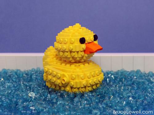 LEGO Rubber Ducky