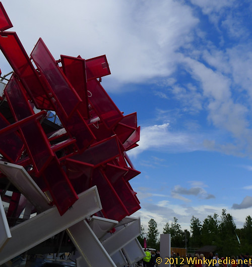 Coca Cola Pavilion, London Olympic Games 2012