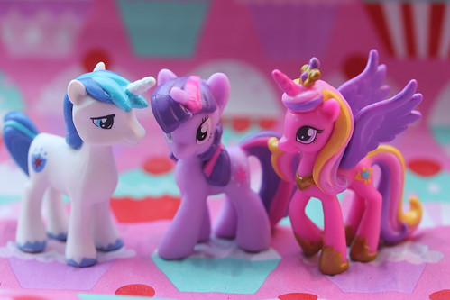 Shining Armor, Twilight Sparkle & Princess Cadance