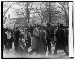 Blacks, Whites Protest Job Losses: 1930 No. 1