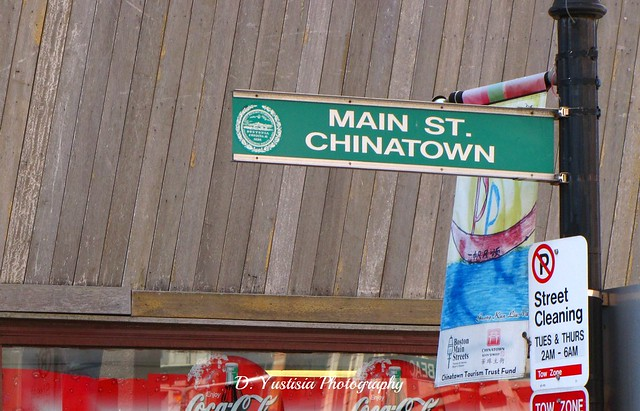 Chinatown street sign