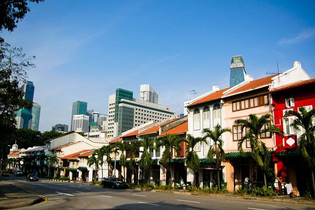 singapore contrasts