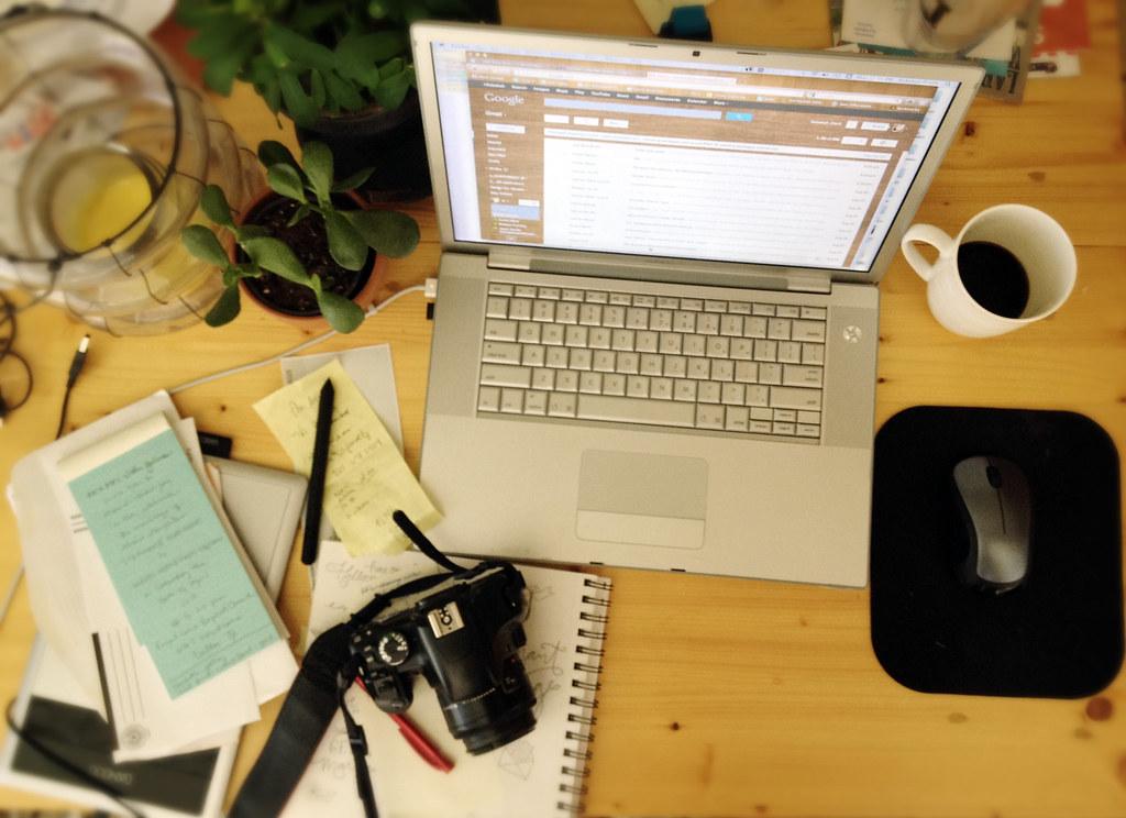 desk birdseye