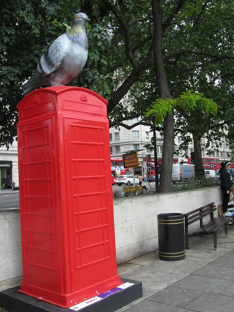 """40 - """"Stop the Pigeon"""" by Howoco (Marble Arch Gardens)"""