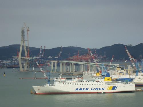 Busan Hafen