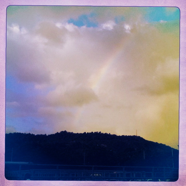 rainbow hipstamatic