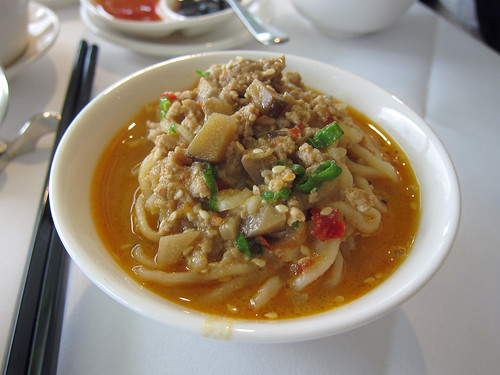 A Portion of Dan Dan Noodles