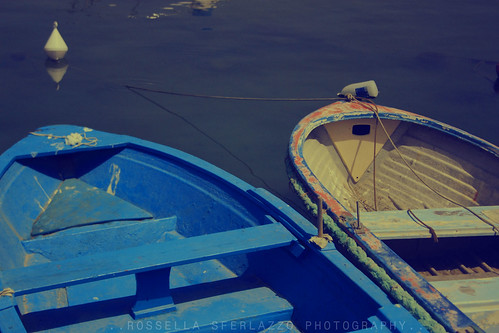 small boats by Rossella Sferlazzo