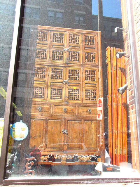 Chinese antique armoire