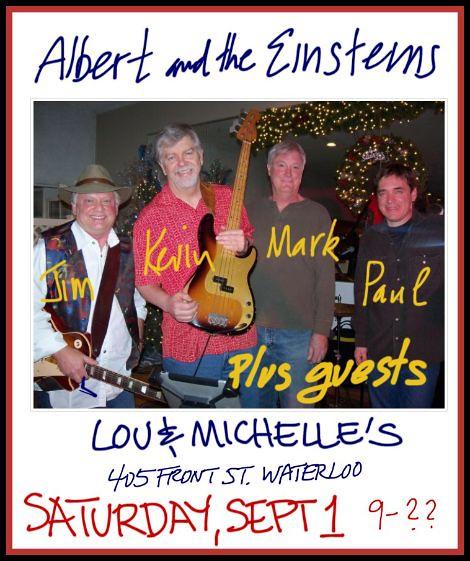 Albert & The Einsteins 9-1-12