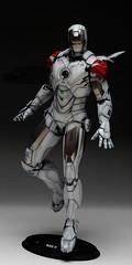 HT 1-6 Iron Man Mark IV (Hot Toys) Custom Paint Job by Zed22 (10)