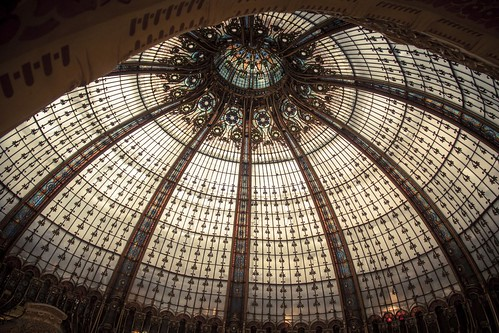 The Eye of Lafayette (Galeries Lafayette, Paris) - Photo : Gilderic
