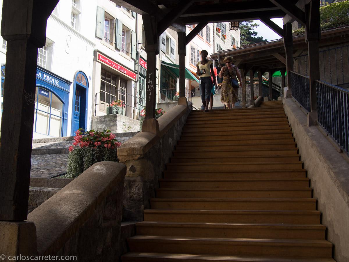Escaliers du Marché