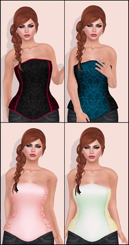Dilly Dolls - Dola Lace Corsets