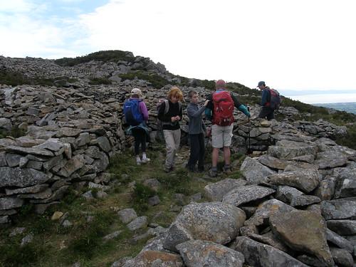 Exploring the hut circles
