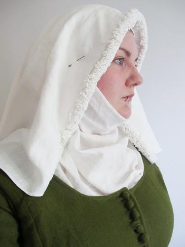 medeltidsveckan 2012 - frilled veil