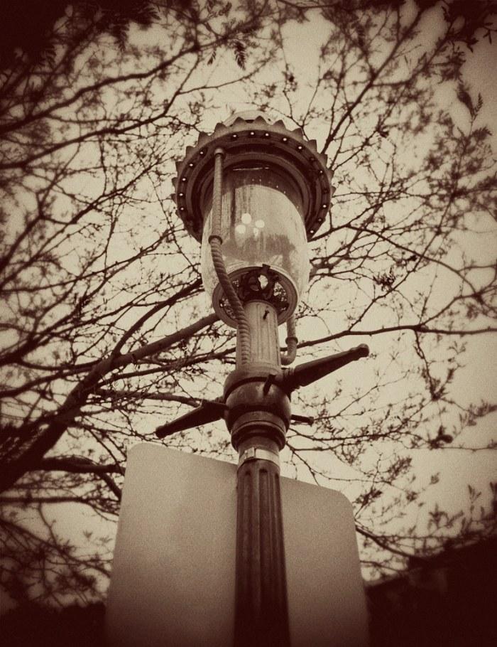 Gas Lantern on Bunker Hill Freedom Trail
