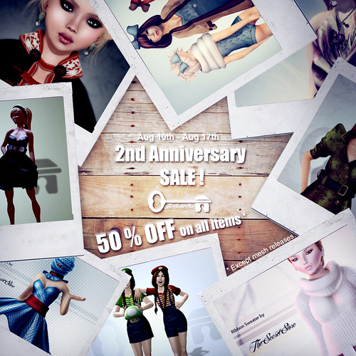 Second Anniversary SALE !