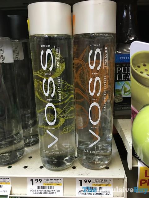 VOSS Sparkling (Lemon Cucumber and Tangerine Lemongrass)