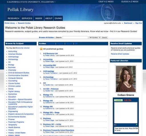 Pollak Library LibGuides
