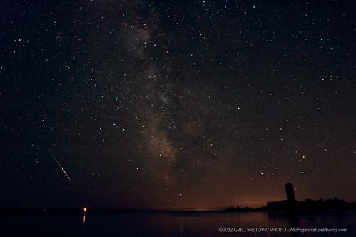 Perseids & the Milky Way