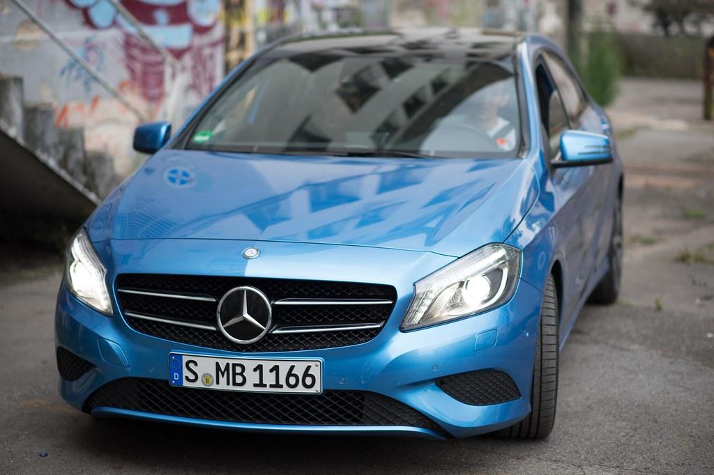Mercedes Benz A-Class - Blue