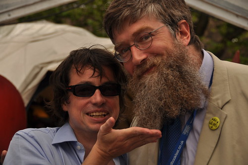 Mr Wigtown and Philip Ardagh